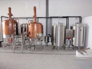 impianto per birrificare
