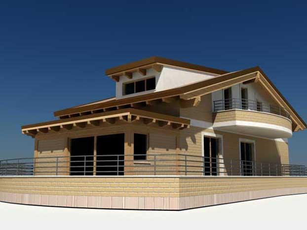 le tipologie di una casa di legno infoperte. Black Bedroom Furniture Sets. Home Design Ideas
