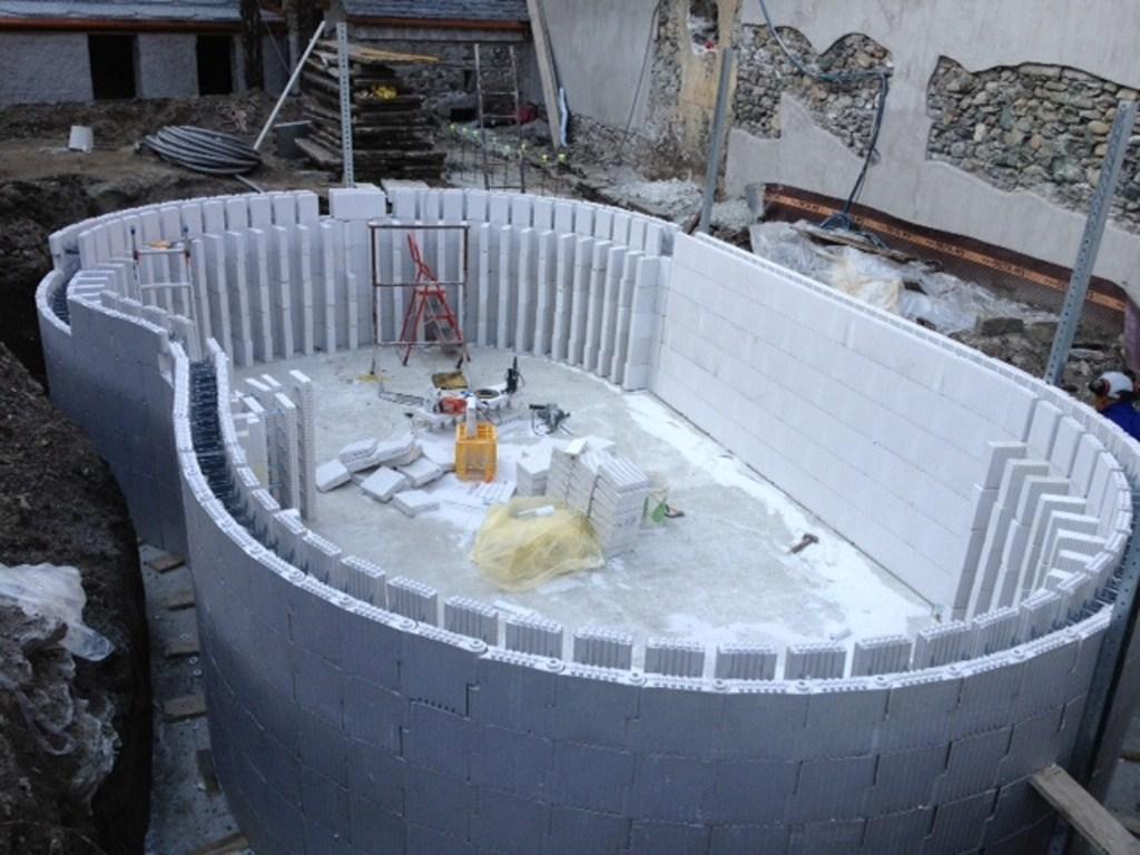 Come costruire una piscina infoperte - Costruire una piscina costi ...