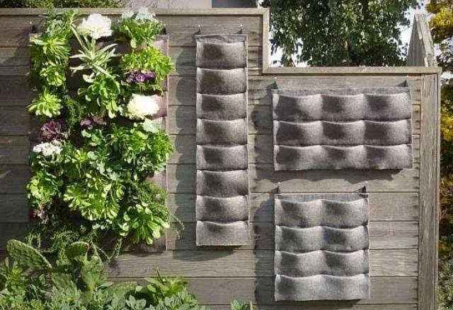 Come realizzare un giardino verticale infoperte - Come realizzare un giardino verticale ...