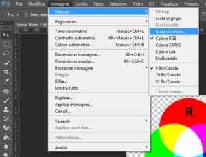 Conversione metodo colore - Photoshop CC