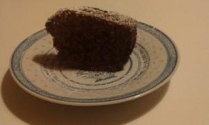 torta arancia fetta