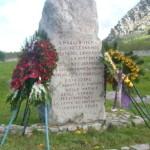 In ricordo delle vittime di Portella della Ginestra