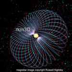 Una magnetar ( è la contrazione inglese di magnetic star) è una stella di neutroni assai più compatta del nostro sole e dotata di un potentissimo campo magnetico.