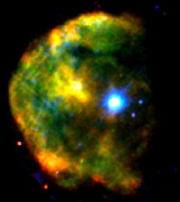 Una magnetar ( è la contrazione inglese di magnetic star) è una stella di neutroni