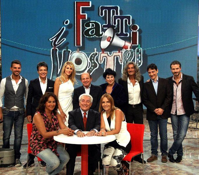 """il cast del talk-show """"ifatti vostri"""