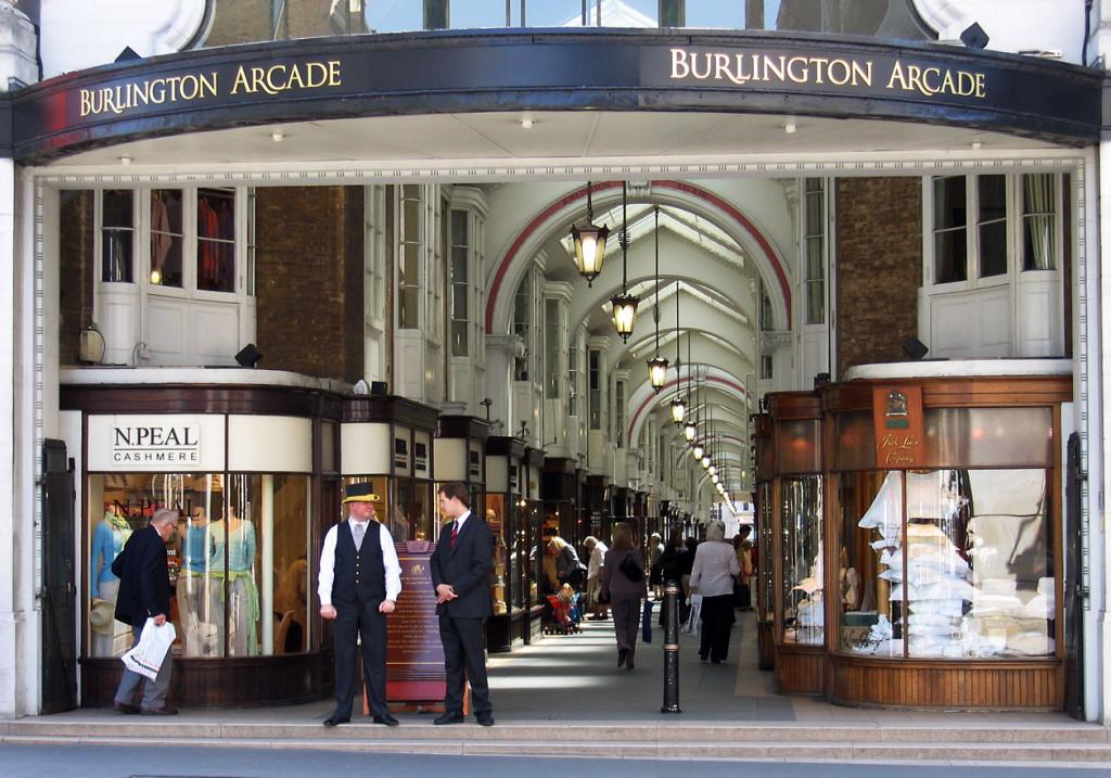 La Burlington Arcade